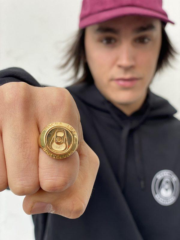 macba life gold ring