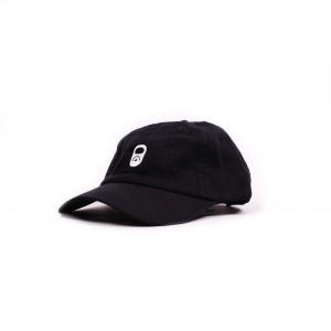 MACBA LIFE DAD CAP BLACK FRONT