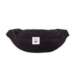 MACBA LIFE FANNY PACK BLACK FRONT