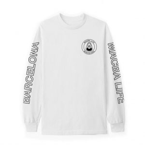 MACBA LIFE FREE HAND LONG SLEEVE WHITE
