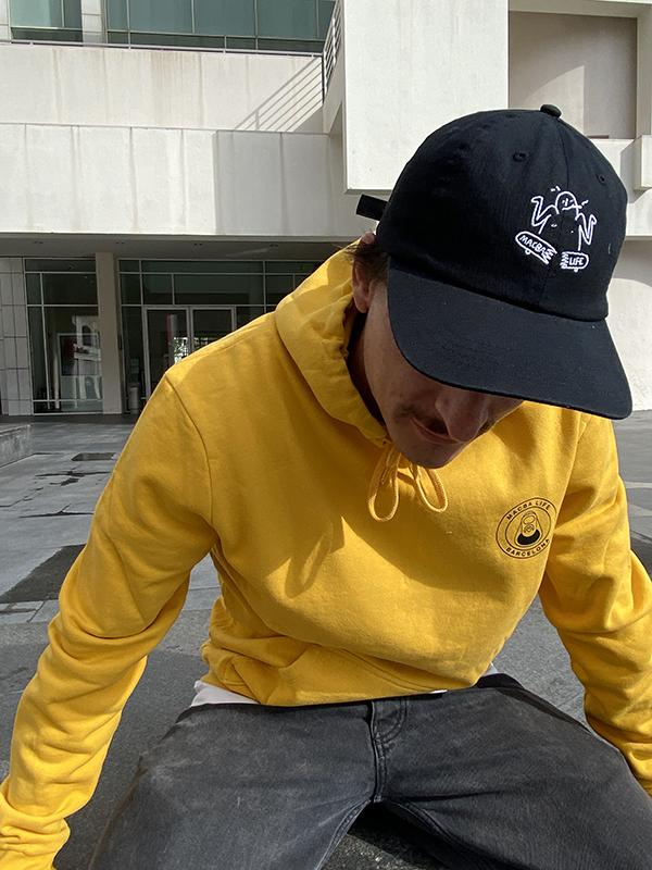 macba life hoodie yellow